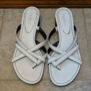 White Cole Haan Sandal